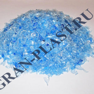 ПЭТ Флекс прозрачна голубая