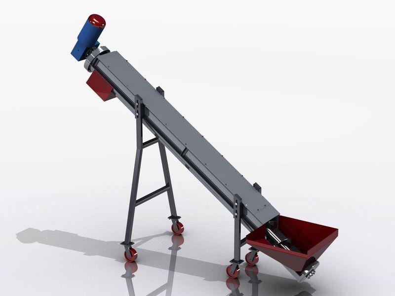 Шнековый транспортер масса оборудование для конвейерной мойки